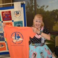 Carol Ann Norman tshirt winner texas festival june 2019